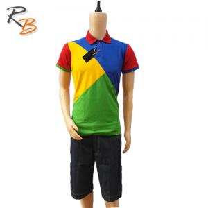 Multi-Colour Polo Top (Large)